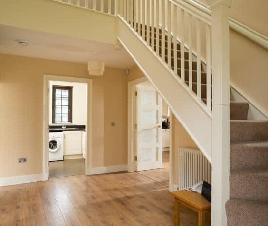 Lodge Hallway Stairs