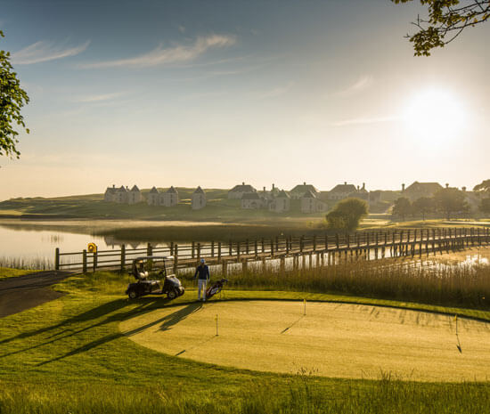Practice Green at Lough Erne