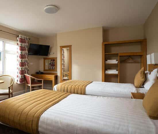 Standard Twin Room with mini kitchen at Belmore Court & Motel, Enniskillen