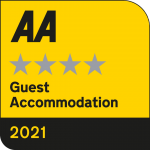 AA four star silver guest accommodation